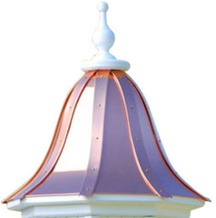 Copper Birdhouse Roof Replacement-Bright Copper