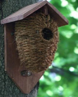 Wood Roof Roosting Pockets Set Of 2 The Birdhouse Chick
