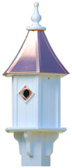 Copper Roof Vinyl Bluebird House with Single Portal