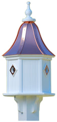 Copper Roof Birdhouse in PVC/Vinyl-3 Portals