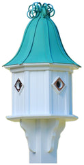 Copper Roof Birdhouse 34x14 Ribbon Detail 4 Portals