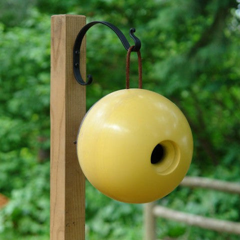 Handcrafted Globe Birdhouse