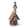 Barn Wood & Tin Church Birdhouses
