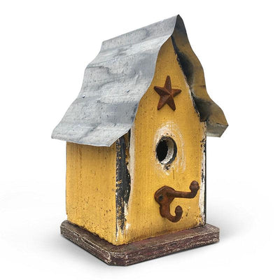 Barn Wood and Tin Birdhouse