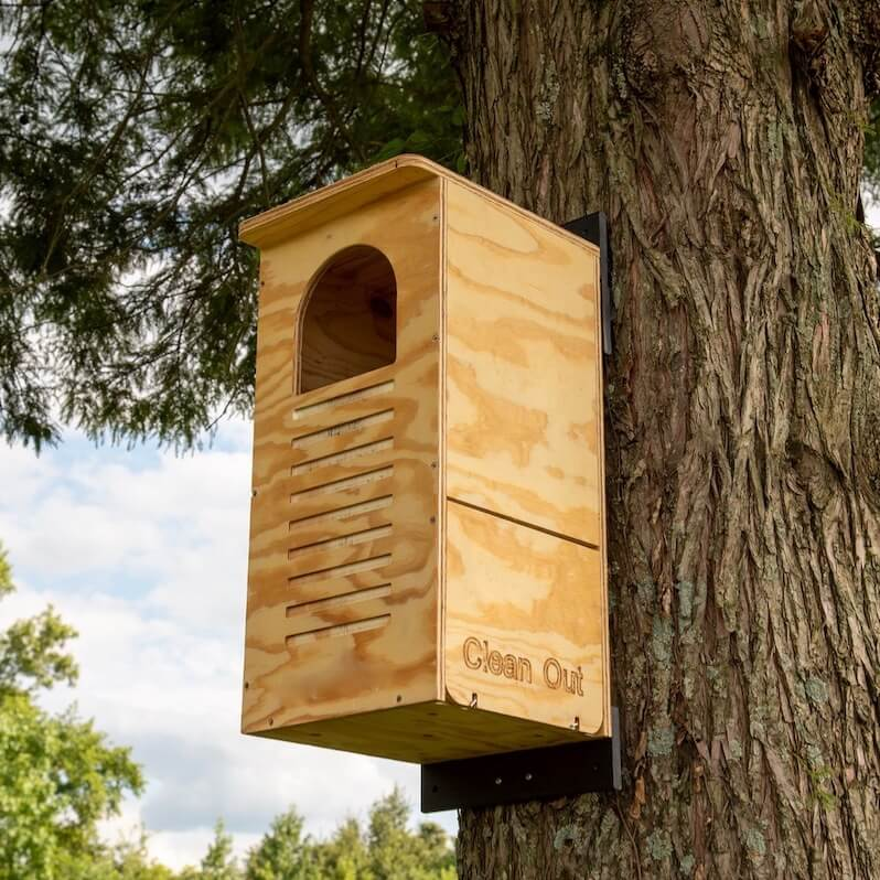Barred Owl House- Assembled