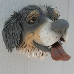 Bernese Mountain Dog Birdhouse
