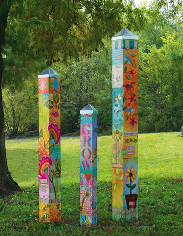Blessed Nest Garden Art Poles