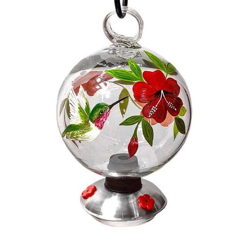 Botanica Dew Drop Hummingbird Feeder
