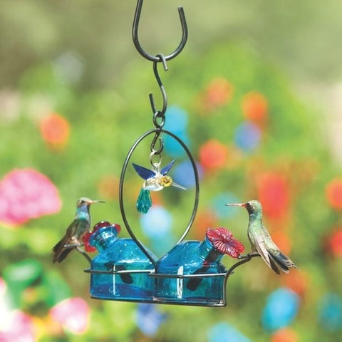 Bouquet Deluxe Hummingbird Feeder