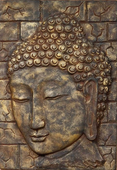 Buddha Relief Wall Decor 40x28