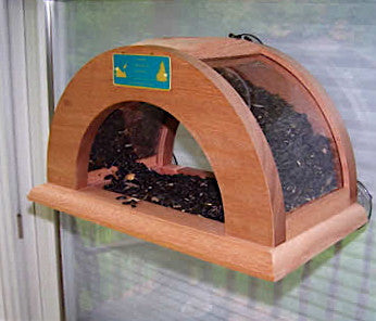 Arched Window Bird Feeder