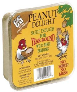 No Melt Peanut Delight Suet Dough
