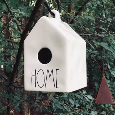 Ceramic Birdhouse- Home