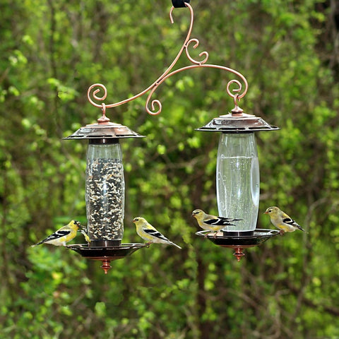 Double Silo Bird Feeder