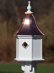 Copper Roof Birdhouses