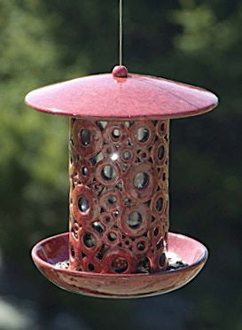 Daddy Oh Ceramic Bird Feeder by BirdBrain
