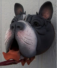 Gargler Ceramic Birdhouse Boston Terrier