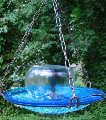 Large Hanging Bird Bath Fountain