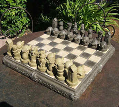 Garden Chess Set