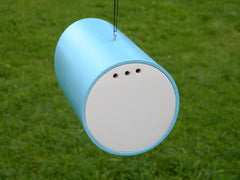 Vinyl Tube Birdhouse-Blue