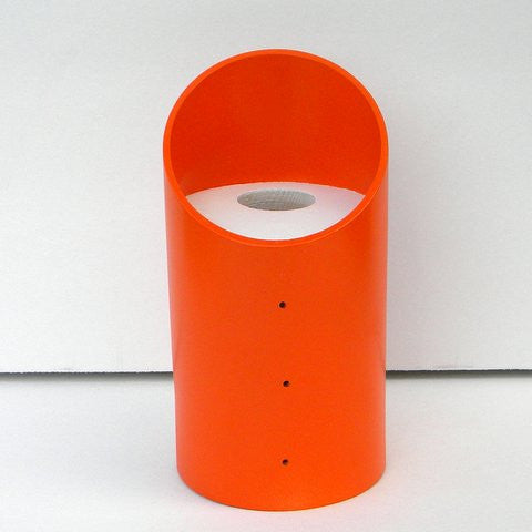 Vinyl Tube Birdhouse-Poppy