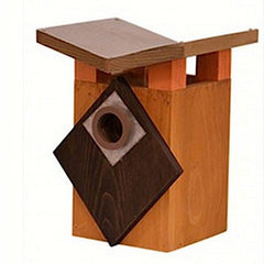 Art Deco Hanging Birdhouse