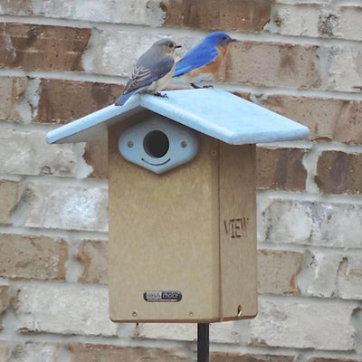 Deluxe Recycled Bluebird House