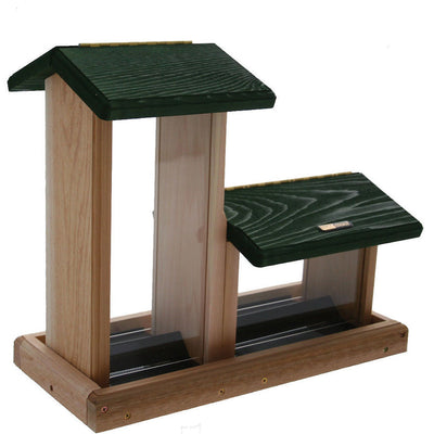 Double Hopper Bird Feeder - 7 Qt.