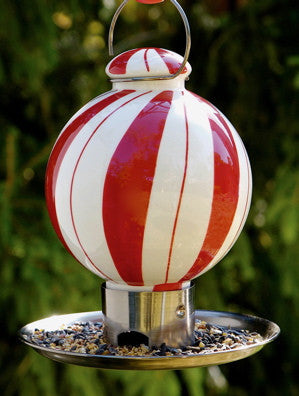 Candy Stripe Wild Bird Feeder