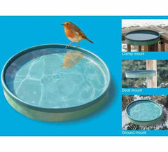 Heated Bird Bath 3 Mounting Options