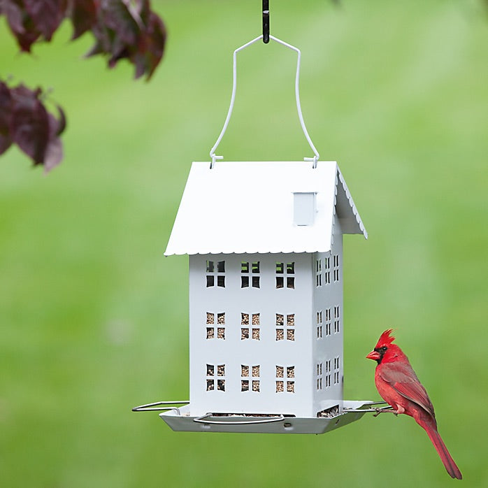 Farm House Hopper Bird Feeder