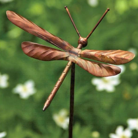 Dragonfly Garden Stakes- Set/4