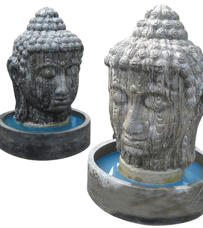 Large Buddha Head Fountain-5 Ft.