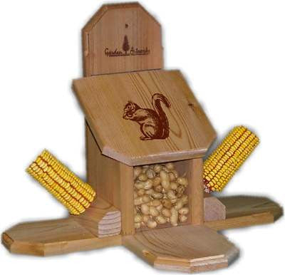 Squirrel Feeder Combo-Munch Box and Corn