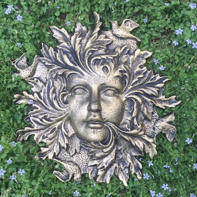 Garden Goddess Stepping Stone or Wall  Plaque