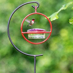 Garden Stand for Hummingbird Feeders