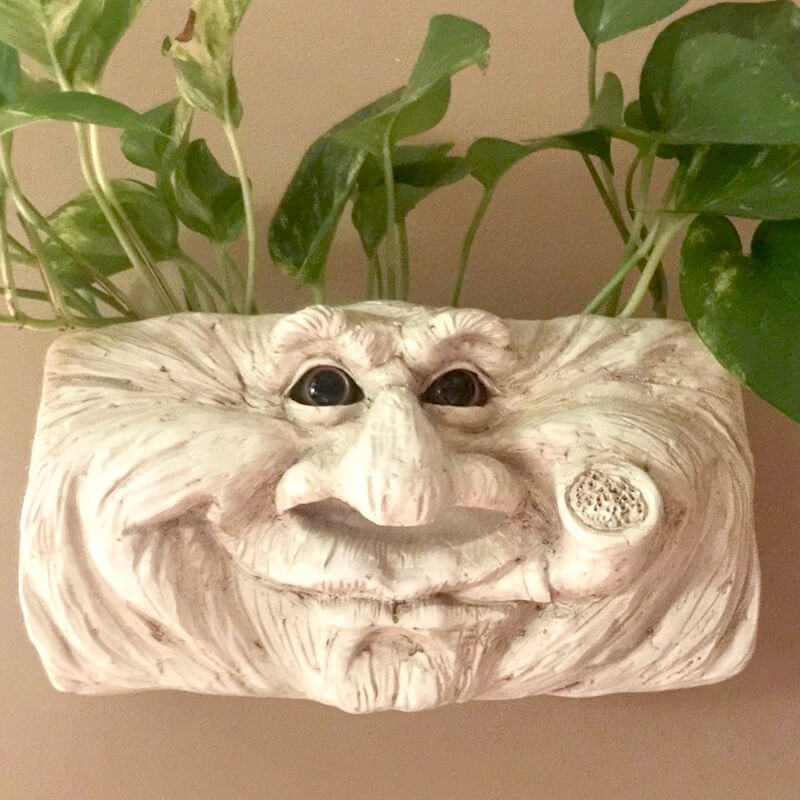Grandpa Wall Planter