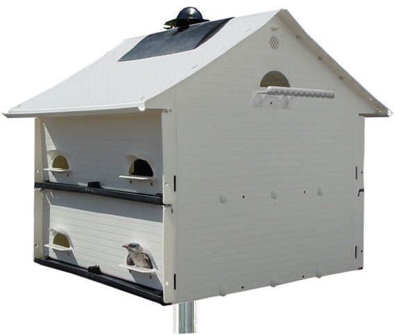 Starling resistant Purple Martin House with 10 compartments