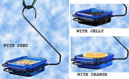Fruit, Jelly & Mealworm Feeder - Hanging
