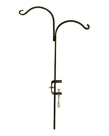 Double Arm Adjustable Deck Hook 36""