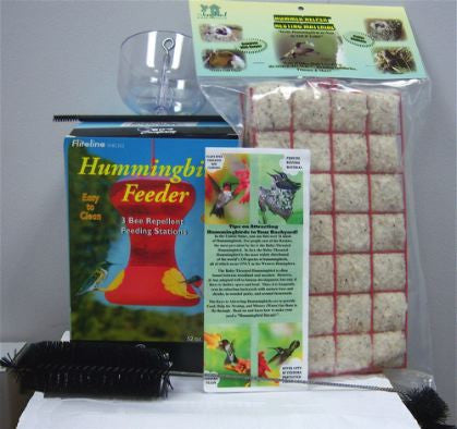Hummingbird Feeder Combo Packge for Hummingbird Lovers
