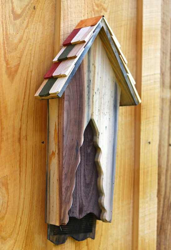 Vintage Bat House-Hand Crafted Solid Cypress