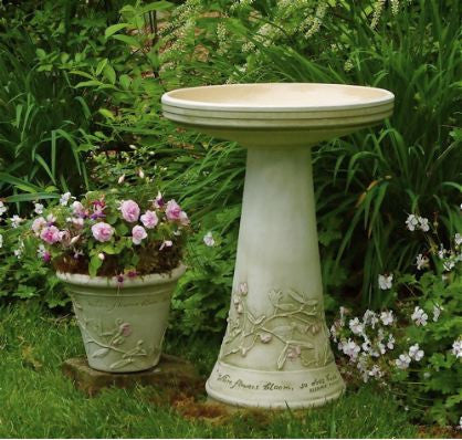 Hope Bird Bath with Locking Top