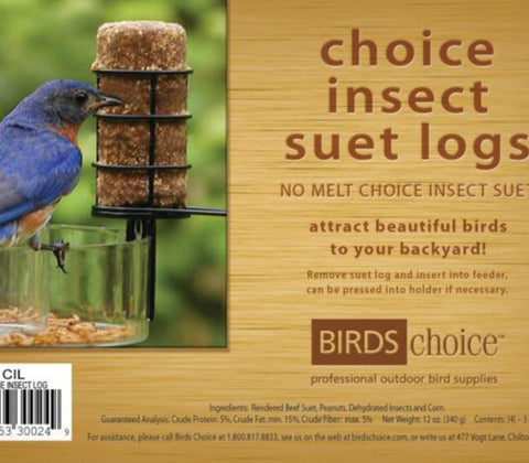 No-Melt Insect Suet Plugs