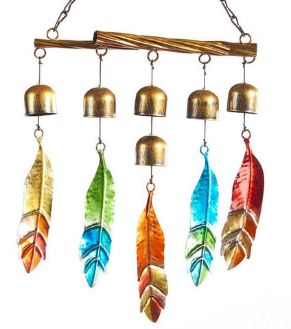 Iron Feather Wind Chime
