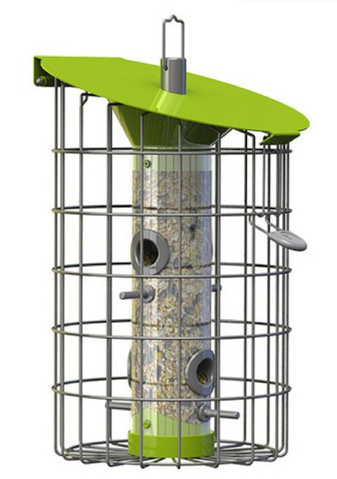 Nuttery Roundhaus Squirrel-Proof Bird Feeder