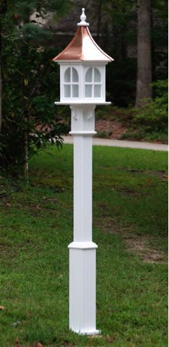 Vinyl Lamp Post Decorative Birdhouse Posts 4x4 Pvc