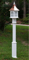 Vinyl Lamp Post-Seamless Fluted or Raised Panel