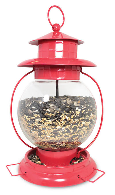 Hanging Lantern Bird Feeder