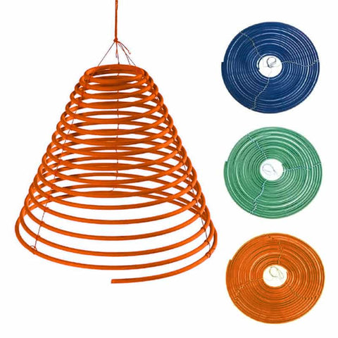 Large Citronella Bug Spirals- Set of 3